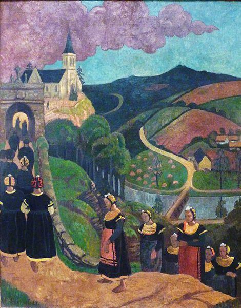 Le pardon de Notre Dame des Portes by Paul Sérusier