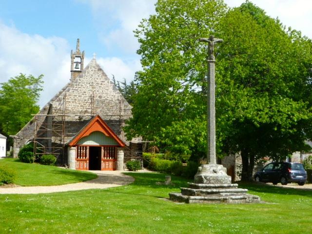 Chapelle St Antoine, Plouézoc'h. Baie de Morlaix. Finistère. France