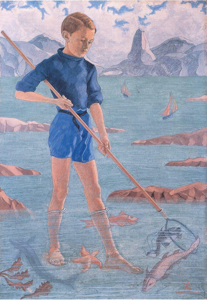 11-Augustin-Rouart-le-petit-pêcheur