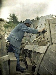 French uniform in 1915